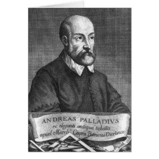 フランチェスコ著刻まれるアンドリアPalladio カード