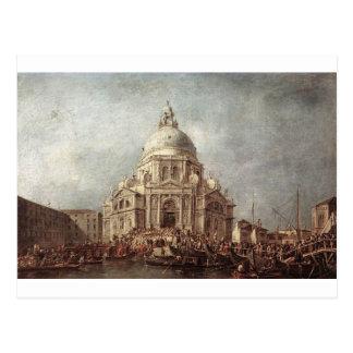 フランチェスコ著Laの挨拶のバシリカ会堂の総督 ポストカード