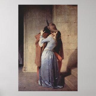 フランチェスコ・アイエツのキス ポスター