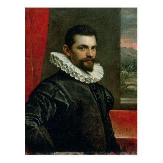 フランチェスコBassanoのポートレート ポストカード