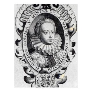フランチェスコGonzagoの公爵およびMantuaの侯爵 ポストカード