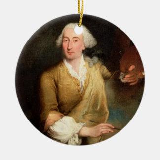 フランチェスコGuardi (1712-93年)のポートレート(油はできます セラミックオーナメント