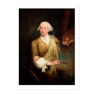 フランチェスコGuardi (1712-93年)のポートレート(油はできます ポストカード