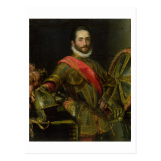 フランチェスコIIのdella Rovere、c.1572 (油のポートレート ポストカード