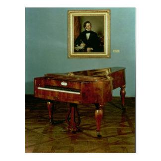 フランツピーターSchubertに属するピアノ ポストカード