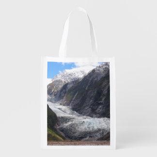 フランツヨセフの氷河、ニュージーランド エコバッグ