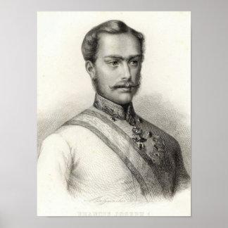 フランツヨセフIのオーストリアの皇帝 ポスター