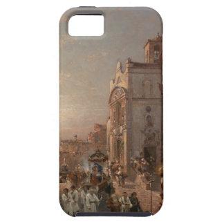 フランツリチャードUnterberger著ナポリの行列 iPhone SE/5/5s ケース