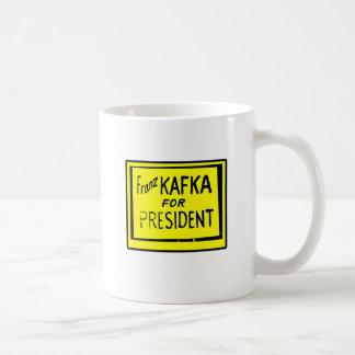 フランツ・カフカ コーヒーマグカップ
