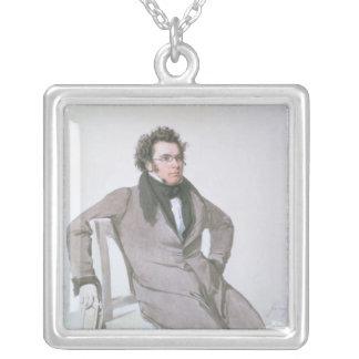 フランツ・シューベルト1825年 シルバープレートネックレス