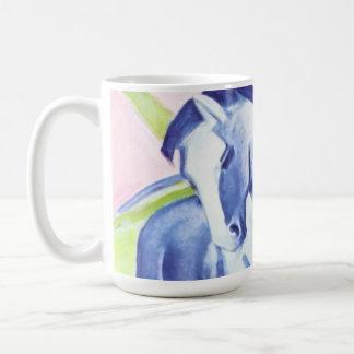 フランツ・マルクのマグによるBlaues Pferd I コーヒーマグカップ