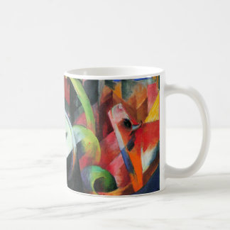 フランツ・マルクのヴィンテージによる牛はファインアートを抽出します コーヒーマグカップ