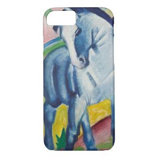 フランツ・マルクのヴィンテージの表現主義の芸術による青い馬 iPhone 8/7ケース