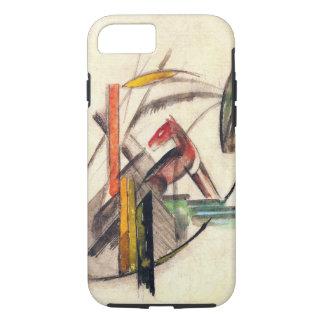 フランツ・マルクのヴィンテージの表現主義の芸術著動物 iPhone 8/7ケース