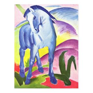 フランツ・マルクの郵便はがきによるBlaues Pferd I ポストカード