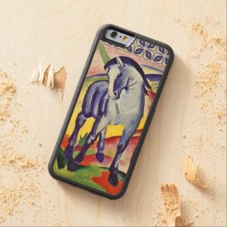 フランツ・マルクの青い馬のヴィンテージのファインアートの絵画 CarvedメープルiPhone 6バンパーケース