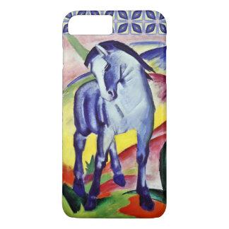 フランツ・マルクの青い馬のヴィンテージのファインアートの絵画 iPhone 8 PLUS/7 PLUSケース