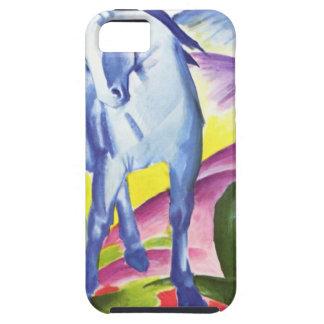 フランツ・マルクのiPhone 5の貝によるBlaues Pferd I iPhone SE/5/5s ケース