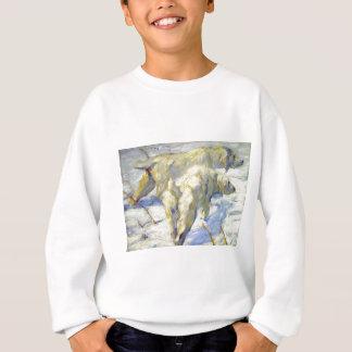 フランツ・マルク著シベリアの牧羊犬 スウェットシャツ