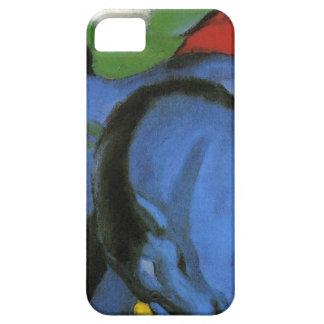 フランツ・マルク著小さく青い馬 iPhone SE/5/5s ケース
