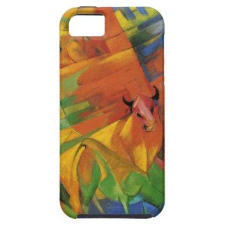 フランツ・マルク著景色の動物 iPhone SE/5/5s ケース