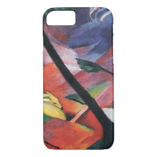 フランツ・マルク著森林IIのシカ; Reh im Walde iPhone 8/7ケース