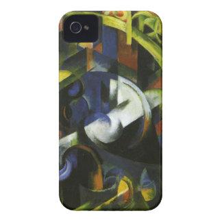フランツ・マルク著牛が付いている写真 Case-Mate iPhone 4 ケース