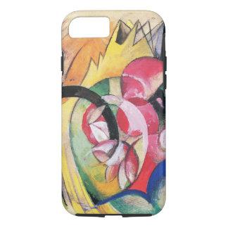 フランツ・マルク著着色された花(別名抽象的な型枠) iPhone 8/7ケース