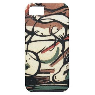 フランツ・マルク著馬の誕生 iPhone SE/5/5s ケース