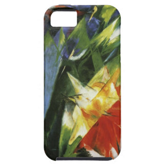 フランツ・マルク著鳥 iPhone SE/5/5s ケース