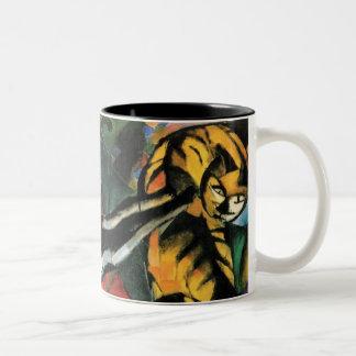 フランツ・マルク著3匹の猫 ツートーンマグカップ