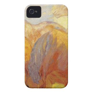 フランツ・マルク著Lenggriesの大きい馬 Case-Mate iPhone 4 ケース