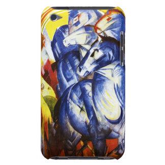 フランツ・マルク馬のiPodの青い箱のタワー Case-Mate iPod Touch ケース