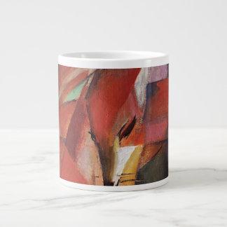 フランツ・マルク-キツネ1913年 ジャンボコーヒーマグカップ