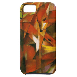 フランツ・マルク-ドイツの表現主義者の芸術-キツネ iPhone SE/5/5s ケース