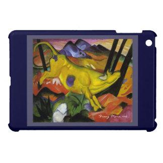 フランツ・マルク-黄色い牛-表現主義者の芸術 iPad MINI CASE