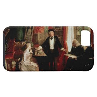 フランツ・リストおよびLisztのdaughtを持つリヒャルト・ワーグナー iPhone SE/5/5s ケース