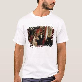 フランツ・リストおよびLisztのdaughtを持つリヒャルト・ワーグナー Tシャツ