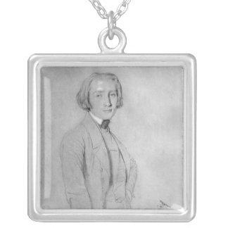 フランツ・リストローマ、1839年5月29日 シルバープレートネックレス