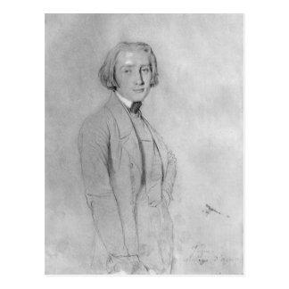 フランツ・リストローマ、1839年5月29日 ポストカード