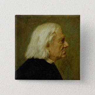 フランツ・リスト1884年作曲家 缶バッジ
