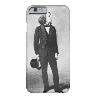 フランツ・リスト(1811-86年) 1856年(litho) (b/wの写真) barely there iPhone 6 ケース