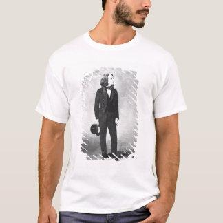 フランツ・リスト(1811-86年) 1856年(litho) (b/wの写真) tシャツ