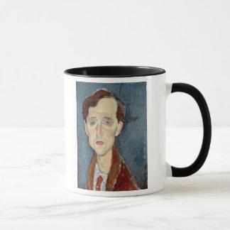 フランツHellens 1919年のポートレート(キャンバスの油) マグカップ