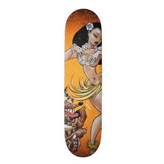 フラ女の子のためのラットのフィンクの演劇 スケートボード