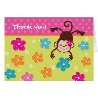 フラ猿のルアウ(ハワイ式宴会)の誕生日はメッセージカード感謝していしています カード