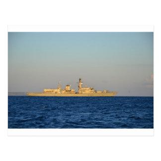 フリゲート艦HMS Monmouth. ポストカード