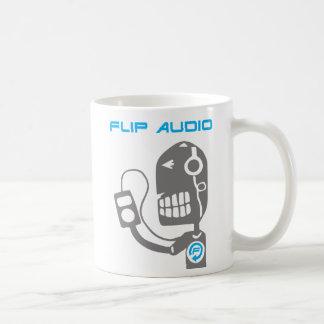 フリップ可聴周波マグ- iPodの人 コーヒーマグカップ