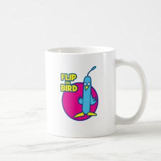 フリップ、鳥 コーヒーマグカップ