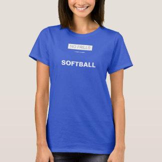フリルのソフトボール無し Tシャツ